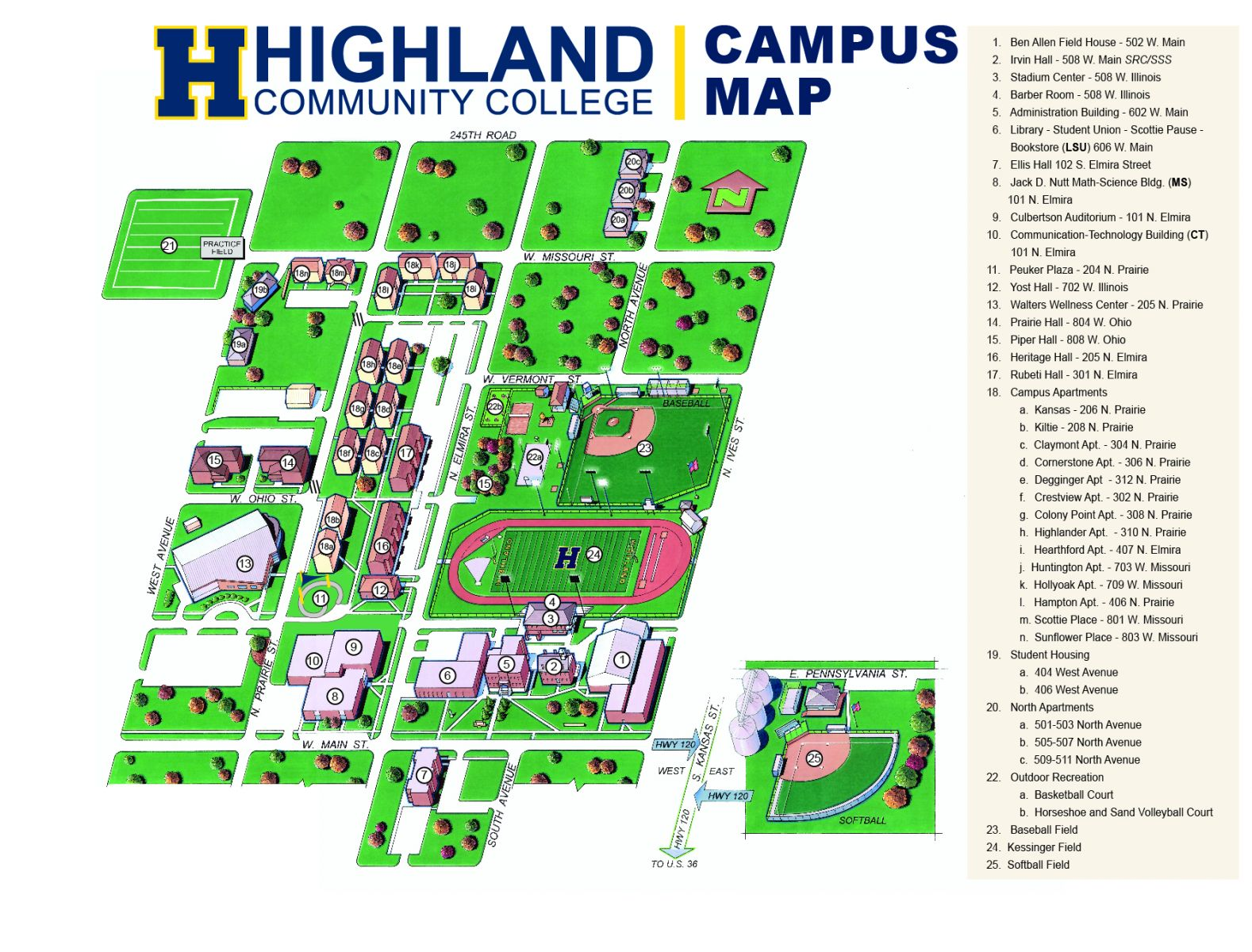Highland Community College | My HCC | Campus Map Campus Map on network security toolkit, john the ripper, metasploit project,