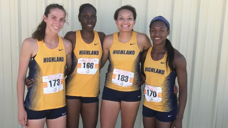 Highland Relay Team Tops in the Nation