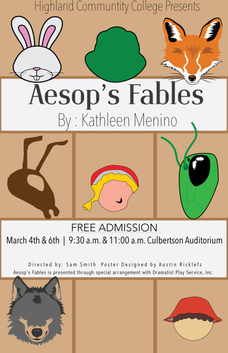 Highland Children's Theatre to Present Aesop's Fables