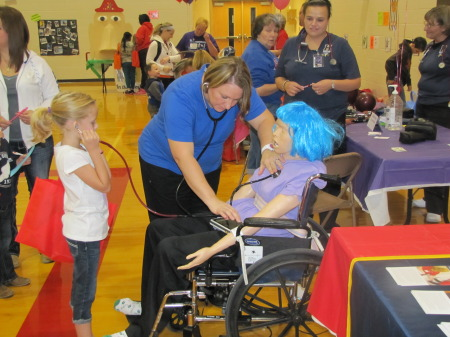 HCCTC Student Participate in Atchison Hospital Health Fair