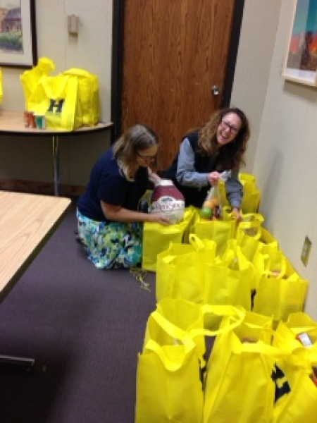 HCC Donates Food for Thanksgiving