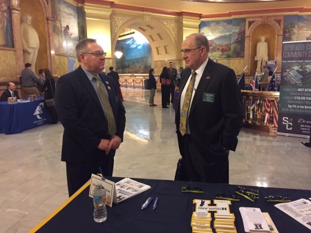 Highland Participates in Higher Education Day at Kansas Statehouse