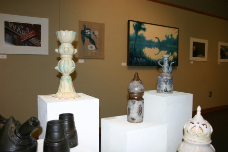 HCC Art Faculty Exhibit in Yost Gallery