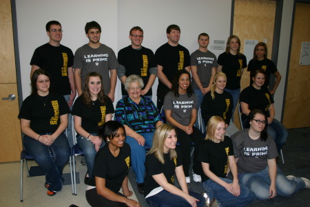 Highland Education Students Honor Marian Thompson