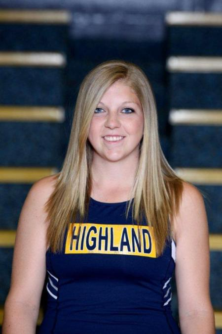 Highland's Hasenkamp and Taylor Medal at National Meet