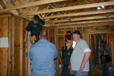 Highland House Hosts HVAC/Electrical Students