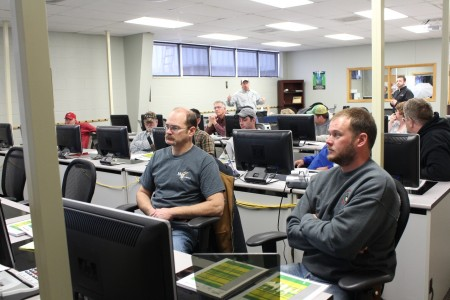 HCCTC Hosts Tractor Training