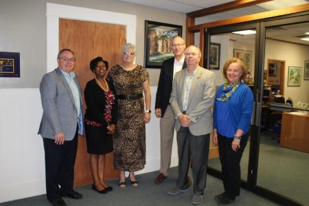 KBOR Leaders Visit Highland