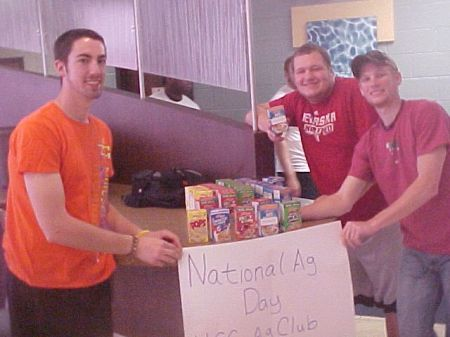 HCC Ag Club Celebrates National Ag Day