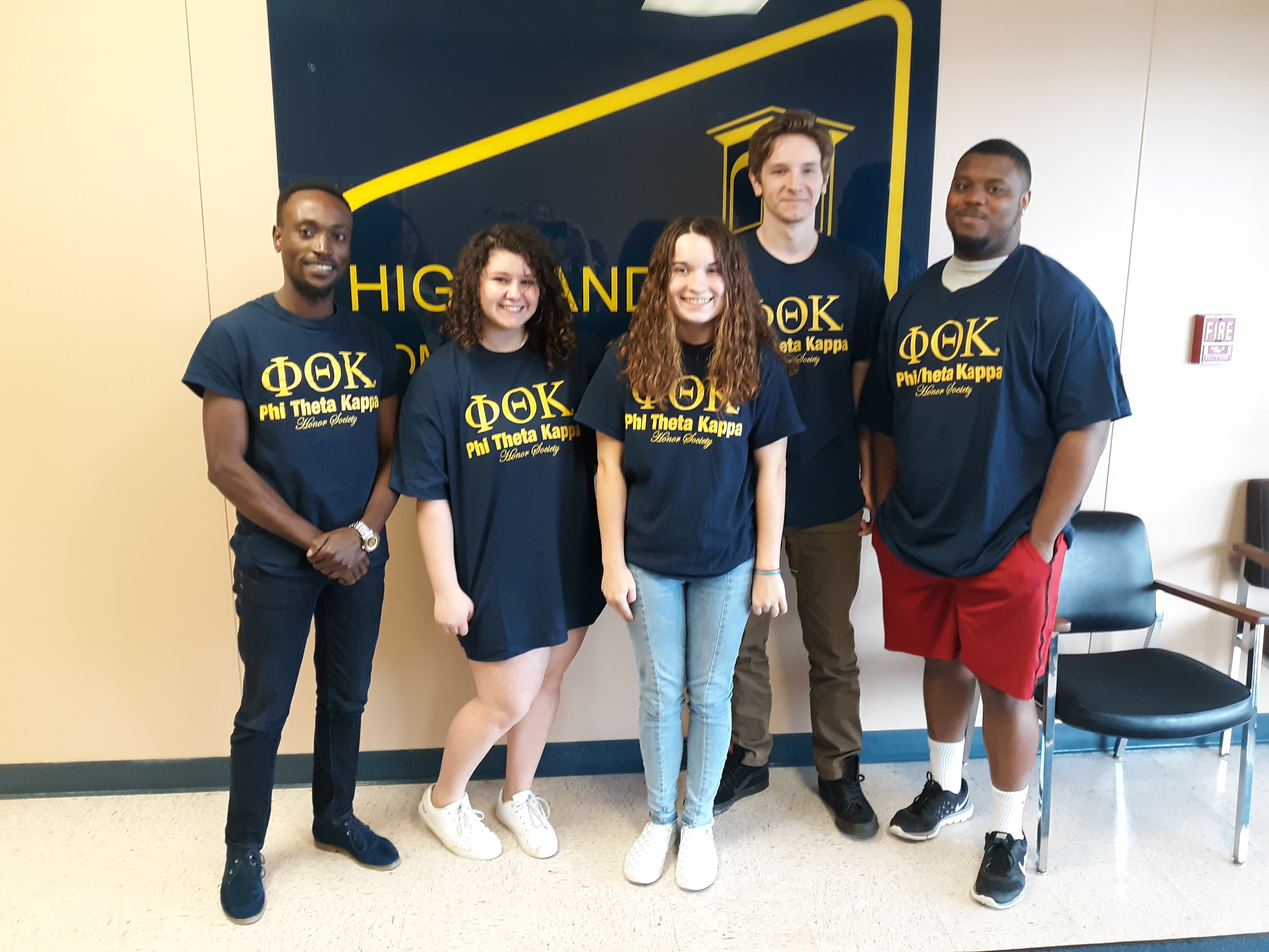Highland Community College's Wamego PTK Earns Five Star Status