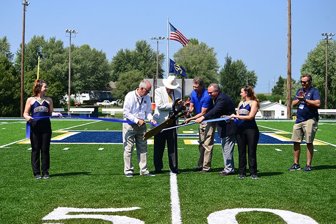 Porter Family Stadium at Highland Community College Dedicated August 25