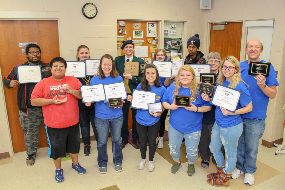 Highland CC Students Honored at Phi Theta Kappa Kansas/Nebraska Regional Convention