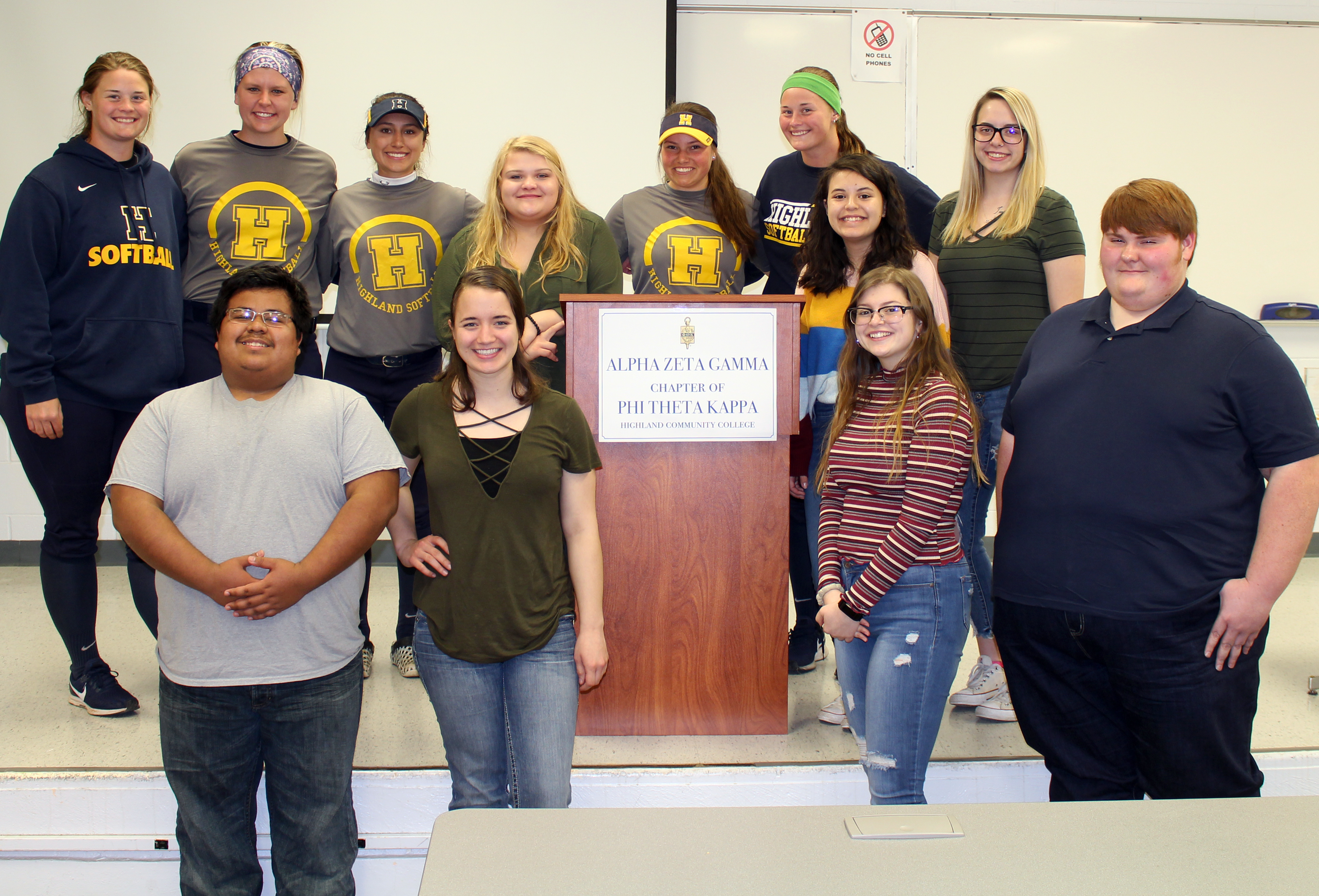 Highland Community College Students Join Collegiate Honor Society Group