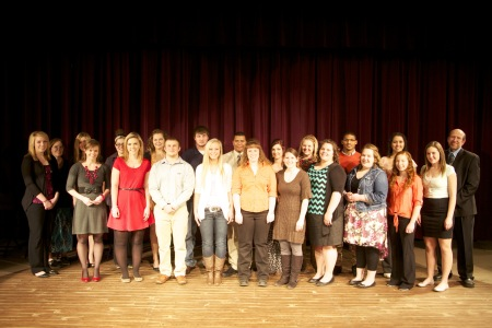 Highland Holds PTK Inductions