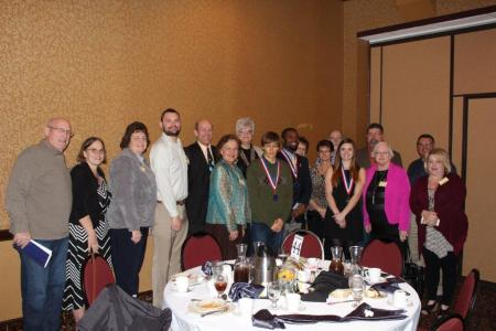 Highland Students Honored at PTK Luncheon