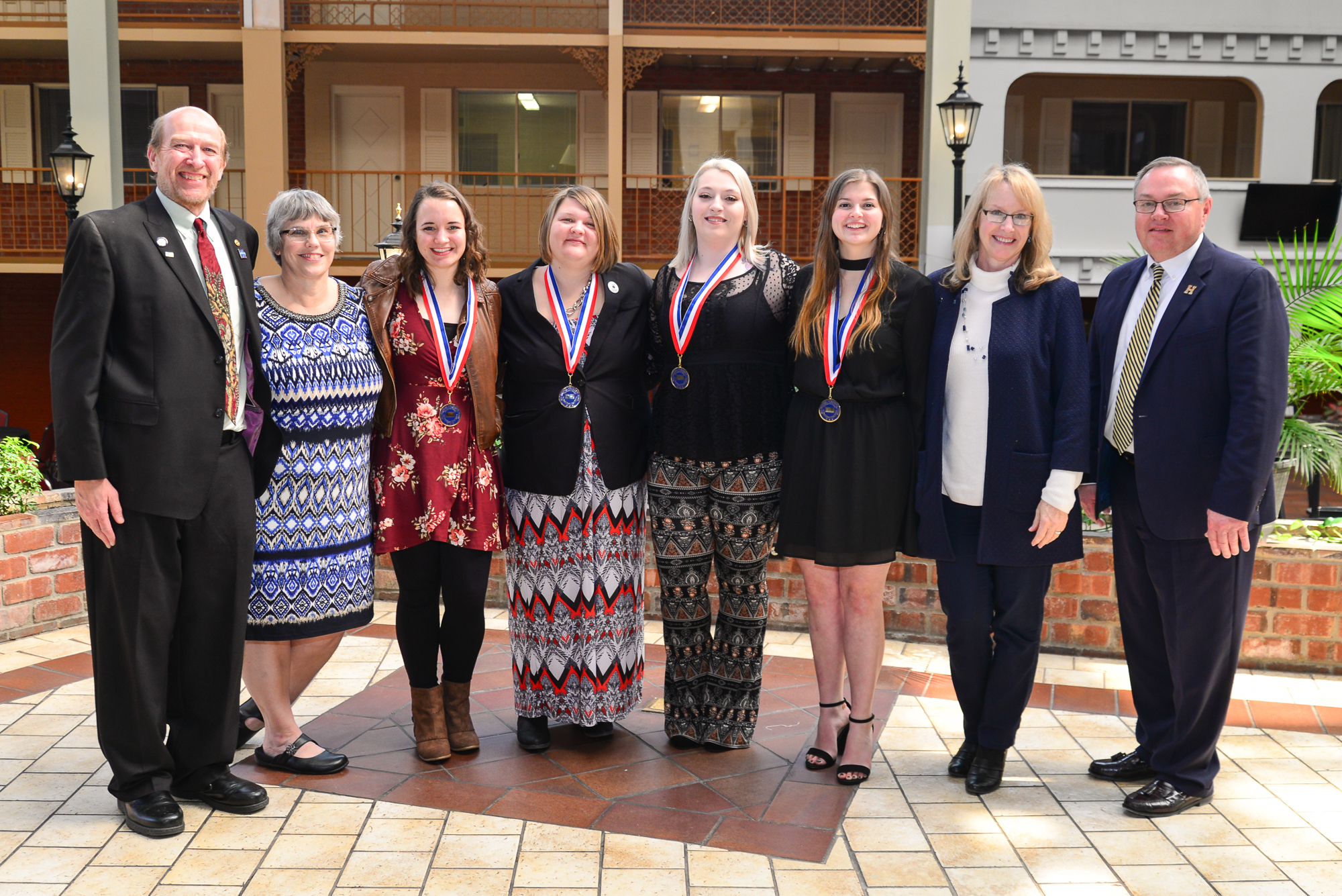 Highland Students Honored at Phi Theta Kappa Luncheon March 7