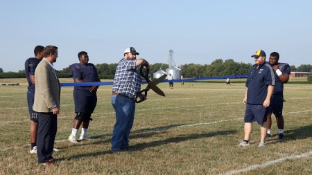 Highland Celebrates New Football Practice Fields
