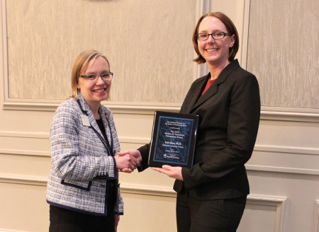 Highland Perry Center Director Receives Dissertation Award