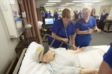 Highland Nursing Programs Teach for Success