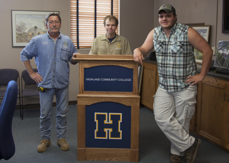 Highland Program Builds Podium