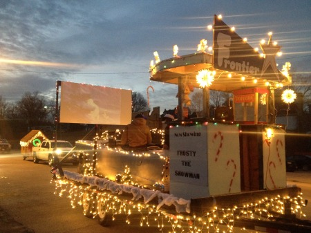 HCCTC Float Takes First Place in Parade of Lights