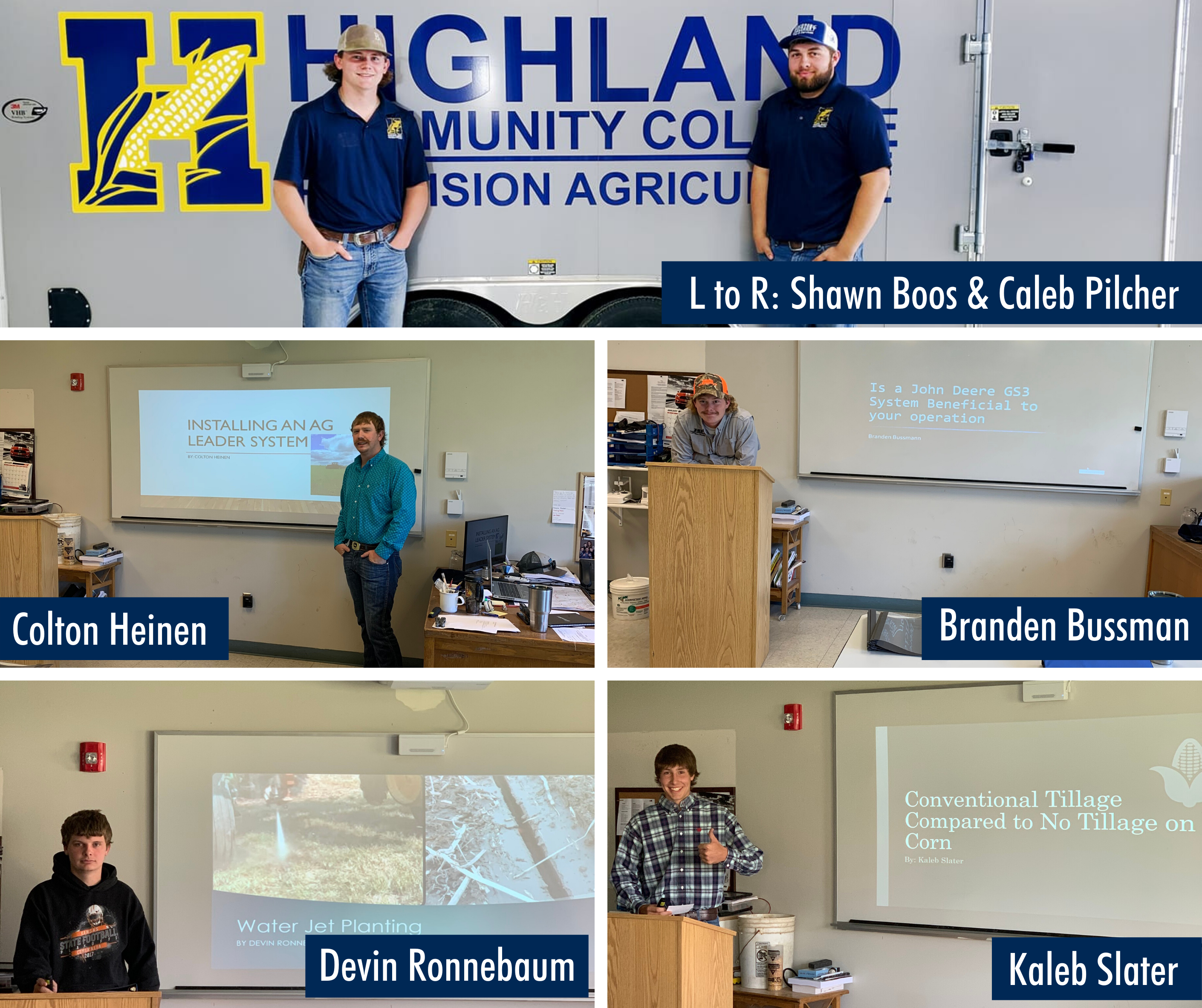 HCC Precision Ag Students Top off the Year with Capstone Projects