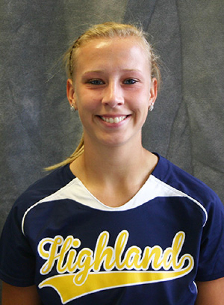 Highland's Wilmarth Named Jayhawk Player of the Week